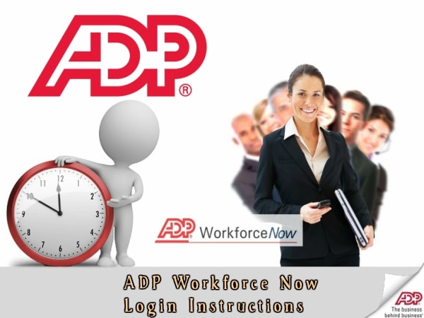ADP Workforce Now Login Portal